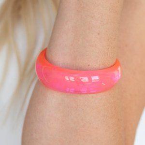 Major Material Girl Pink Bracelet